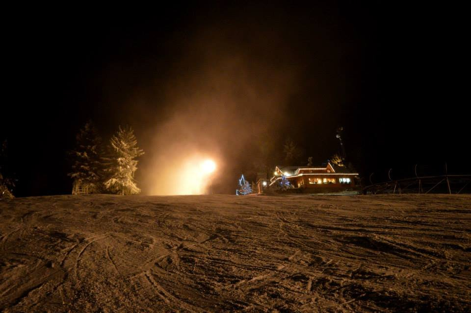 Night skiing at Big Raca - Snow Paradise Veľká Rača Oščadnica - ©facebook.com/velkaraca