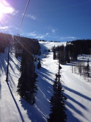 Bluebird day, afternoon skiing is great. Groomers nice and soft, bowl is skiing the best. Turn and burn!