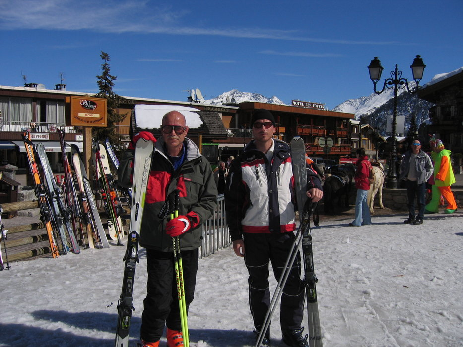 Me & son - ©Alpis @ Skiinfo Lounge