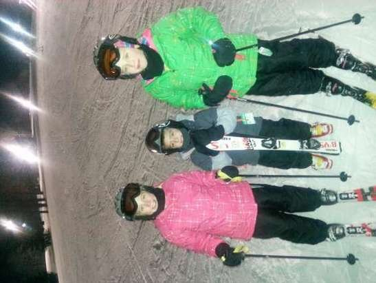 A great day on the slopes with the family!