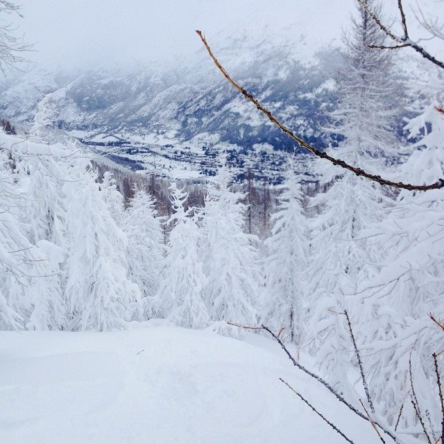 Serre Chevalier Jan. 17, 2015 - ©@mato05 on Instagram
