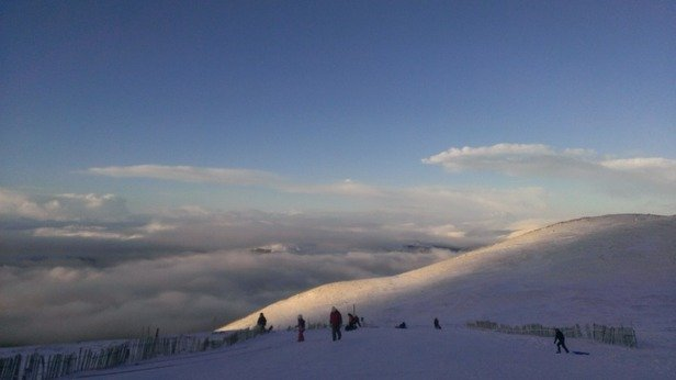Snow was so amazing, so powdery and soft. Really good week