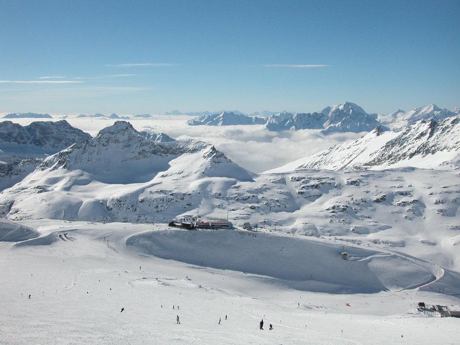 Wide-open ski area