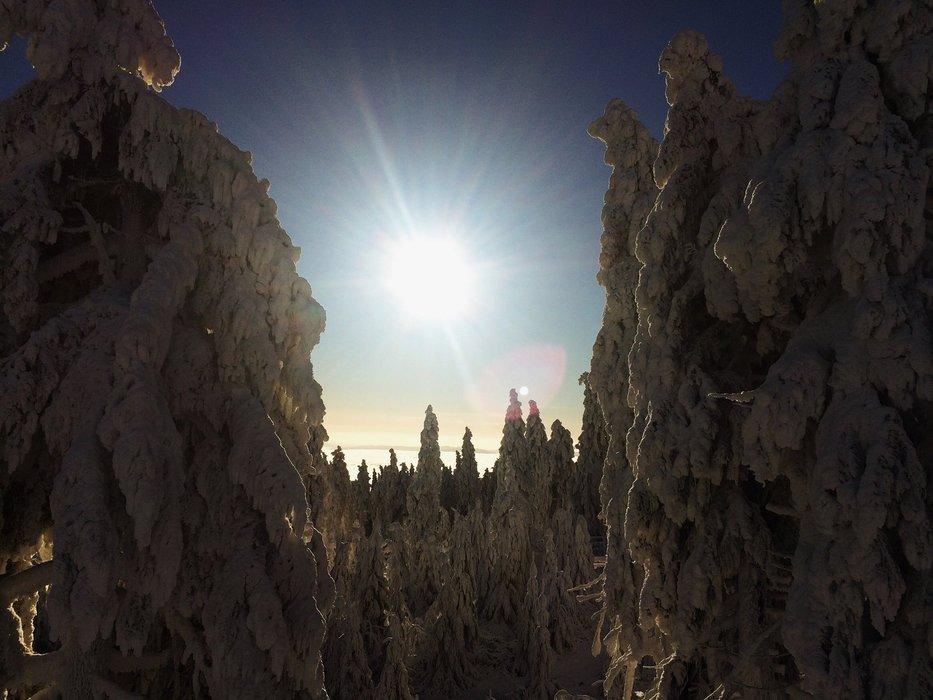 Winter views from Klinovec - ©facebook.com/klinovec