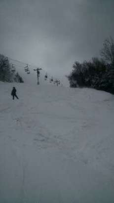 Helmers opened today. Nice snow. All runs covered nicely. Good conditions.