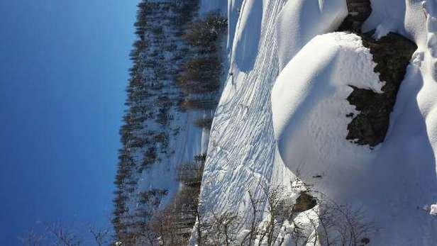 sole e neve fantastica