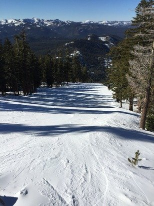Skied at Northstar yesterday. Had a great time. Runs were groomed and lift lines were short.  Lots of sun.