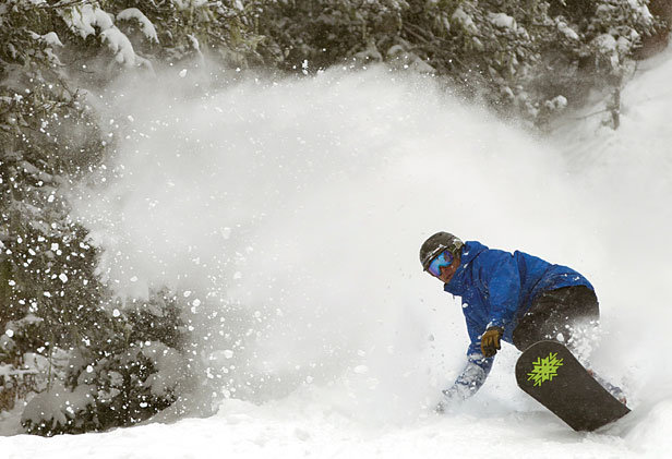 Powder sunshine and a long weekend - the best way to say