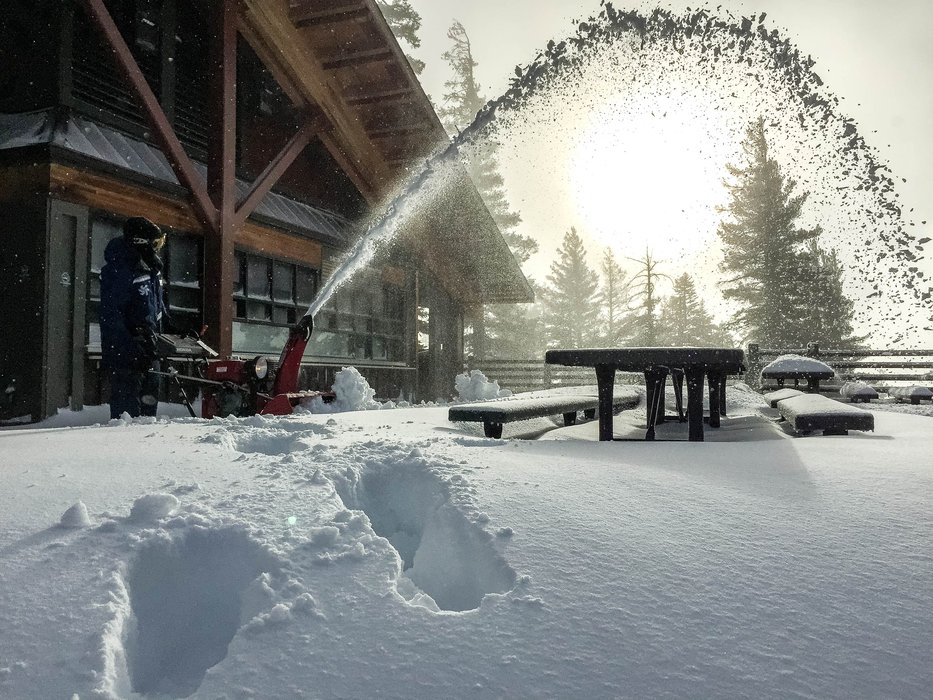 Feb. 7, 2015 delivered fresh snow to Northstar California.