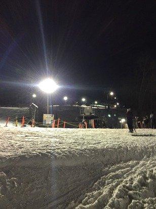 Snow was perfect last night