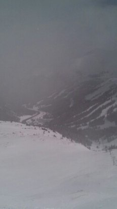 Top of Loveland pass, cold day w/ great snow!