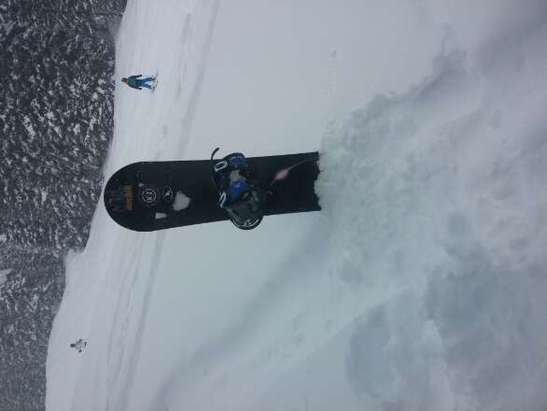 epic . new pow coming down relentless.