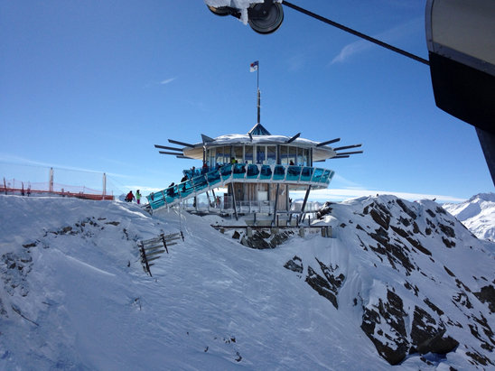 Obergurgl-Hochgurgl - What a day's skiing in Obergurgl and across to Hochgurgl today... Perfect snow