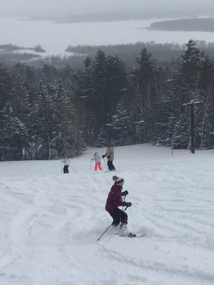 Spirit Mountain - powder fun for everyone...plus they did an extra round of grooming mid-day...very nice - ©Anonymous