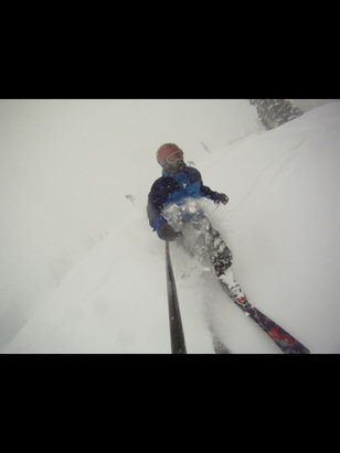 Solitude Mountain Resort - Awesome snow day and improving coverage!