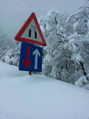 Mavrovo - Zare Lazarevski - Heavy snowfall Mavrovo Bistra more than 130 cm fresh snow last two days  - ©Perparim Qaili Limi