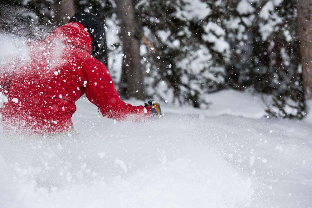 Utah blower powder ranks among the best snow on Earth. - ©Liam Doran