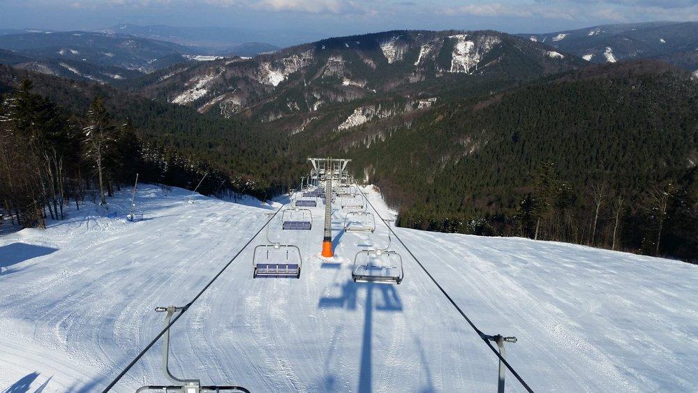 Ski resort Skalka Arena (6.3.2015)