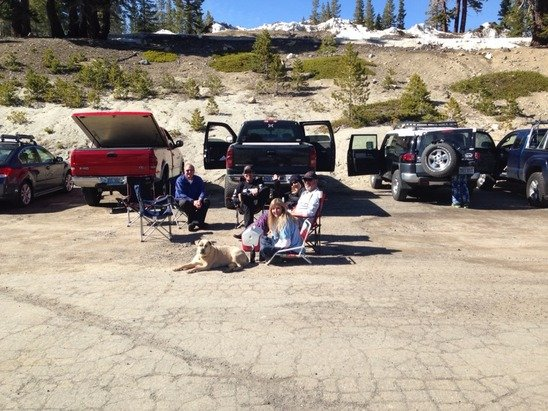 Mt. Rose - Ski Tahoe - Yesterday, typical (beautiful) spring ski day!  - ©tonan's iPad