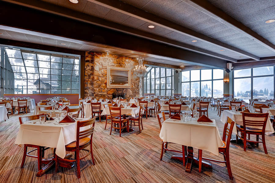 Dining room of Goldminer's Daughter at Alta Ski Resort - ©Alta Ski Area