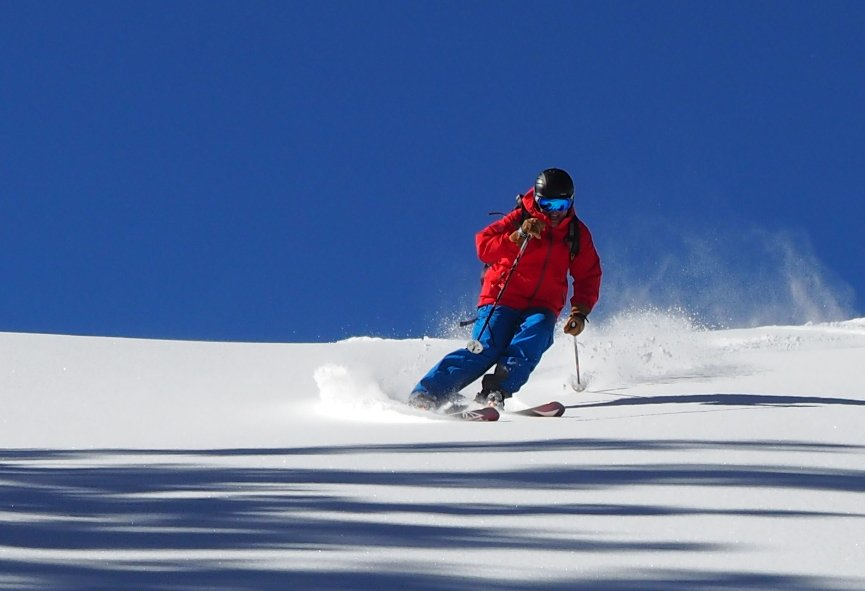 Bluebird day skiing at Eldora Mountain Resort in Colorado. - ©Eldora Mountain Resort