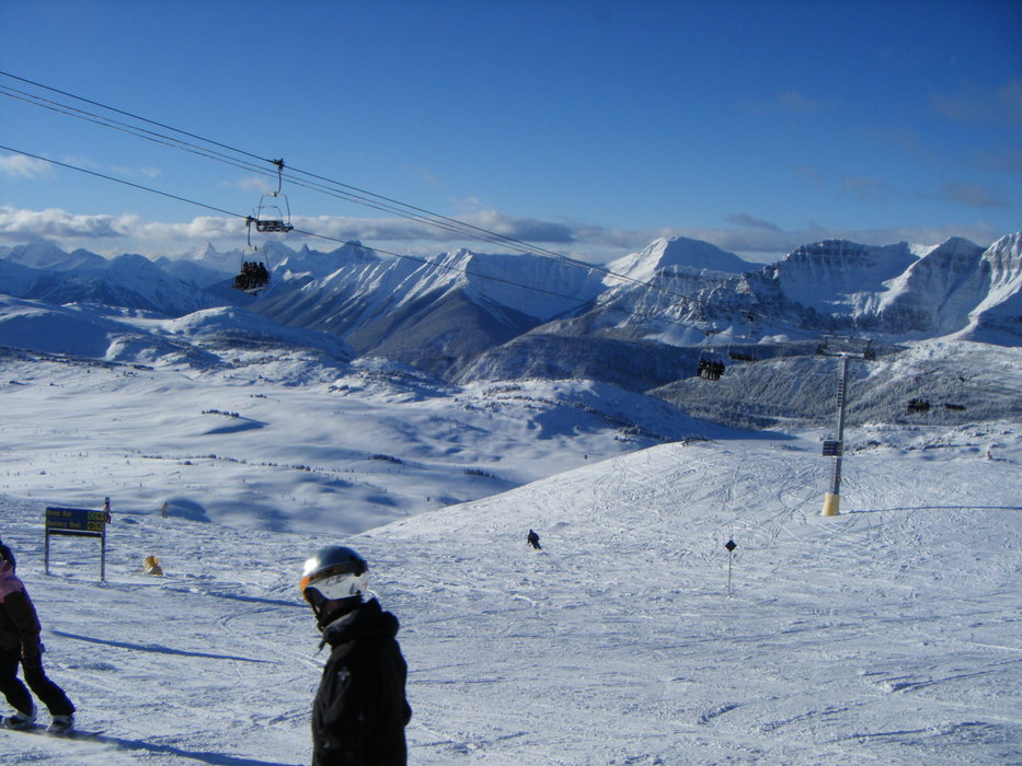 Sunshine Village - ©LilleSille | LilleSille @ Skiinfo Lounge