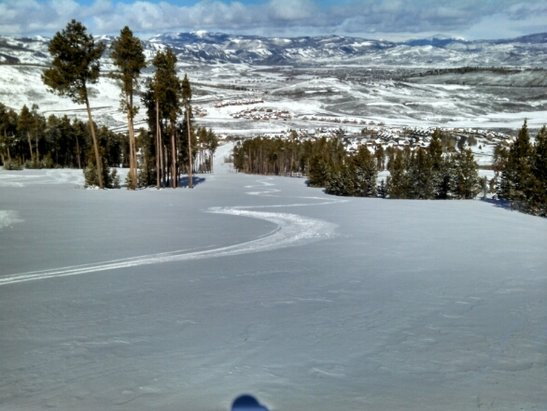 Ski Granby Ranch - 3 inches of fresh powder.  Great day of skiing!