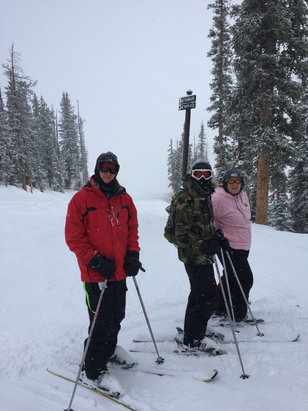 Crested Butte Mountain Resort - Great skiing. Cut fresh powder all day Tuesday and Wednesday.