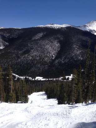 Winter Park Resort - Big slushy moguls at MJ!