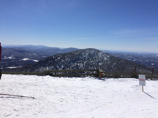 Jay Peak - It is spring, right?  Can't tell here.   Couldn't ask for better conditions today! - ©Dan W.