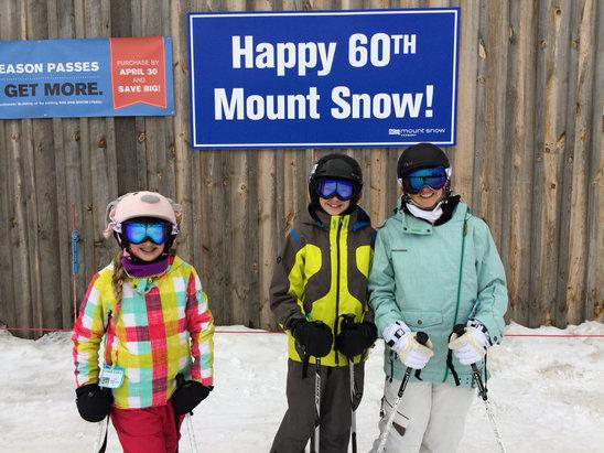 Mount Snow - Great day. No lift lines. Little bit wet