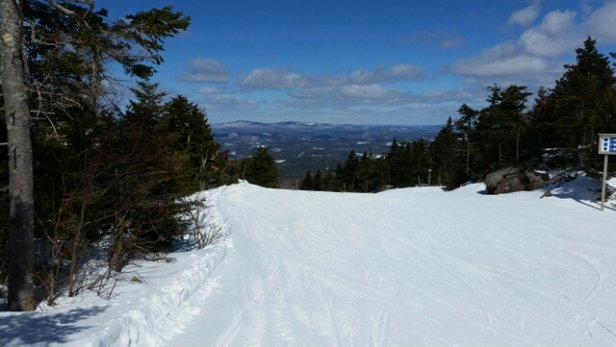 Mount Sunapee - nice spring conditions