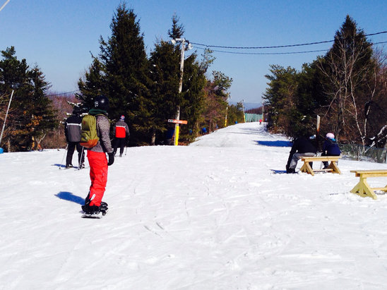 Camelback Mountain Resort - Great spring conditions
