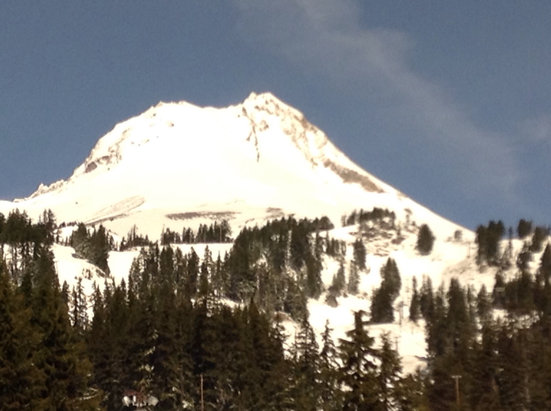 Mt. Hood Meadows - This is a great day for skiing and snowboarding!