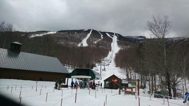 Stowe Mountain Resort - Not a great day but a very good day, snow got softer in the afternoon had a blast, should get better when sun and temps rise get out . One more week to go, so get out there