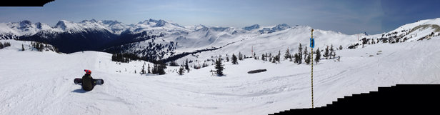 Whistler/Blackcomb - Not bad at all on a spring day