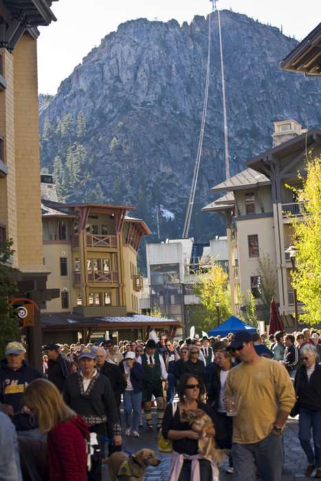 Oktoberfest at Village at Squaw Valley.