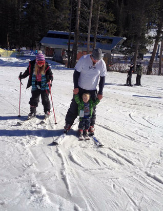Sierra-at-Tahoe - We as a family loved going skiing at Sierra all the kids learned to ski there. Our youngest was 18 months when first hit the slopes there this past