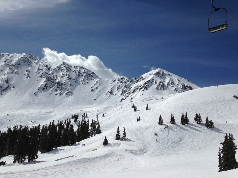 A-Basin got nearly 4 feet of fresh snow in May alone. - ©Arapahoe Basin Ski Area