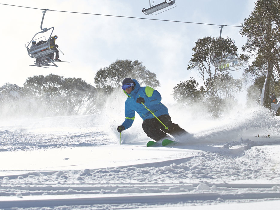 Perisher is Australia's biggest ski resort.