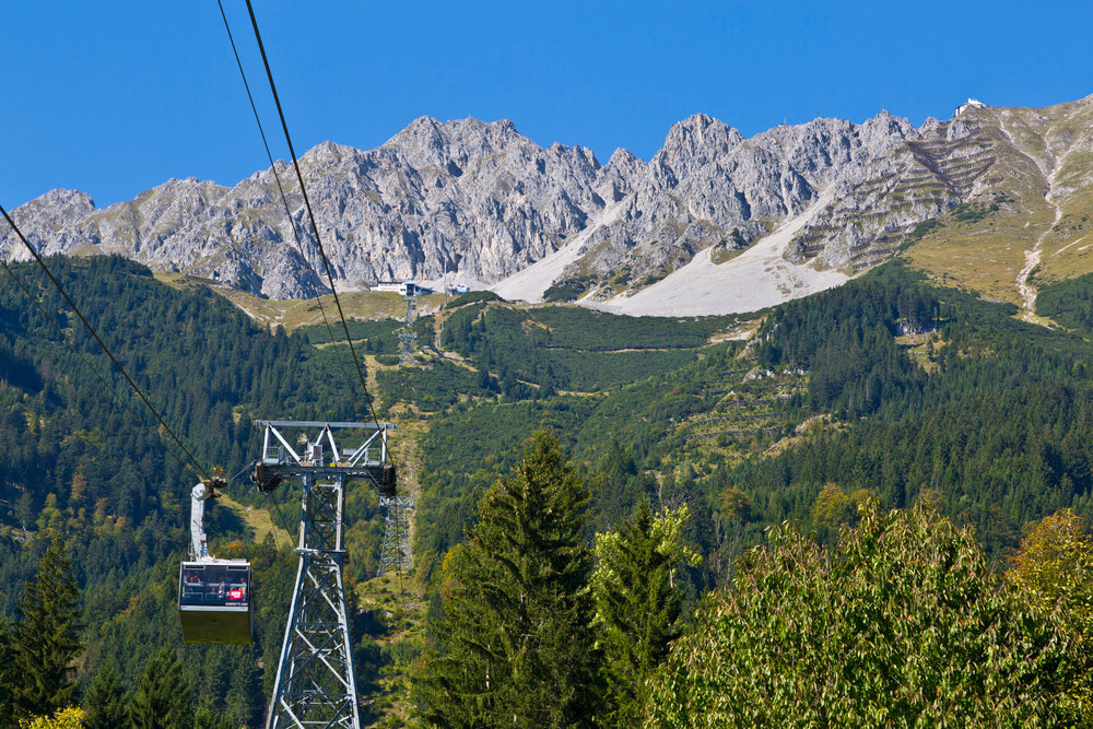 Nordkettenbahn im Sommer - ©Innsbruck Tourismus