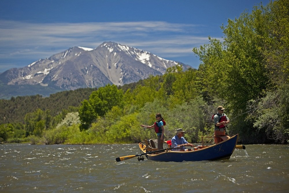 A float trip is a great way to cover water in colorado for Colorado fishing trips