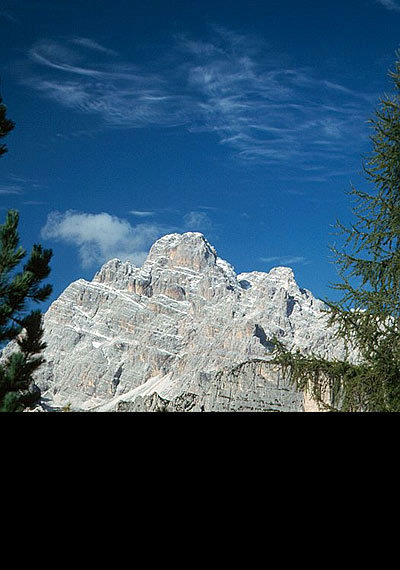 Monte Cristallo (3221m, Cristallogruppe, Ampezzaner Dolomiten) - ©Bernhard Mühr, weltderberge.de