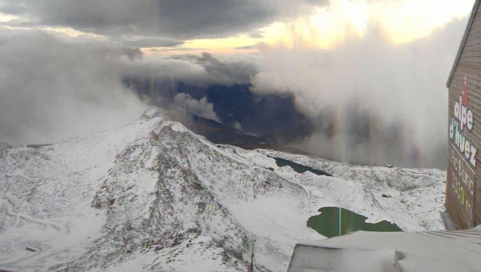 Alpe d´Huez am 23.09.2015 - ©Facebook Alpe d´Huez