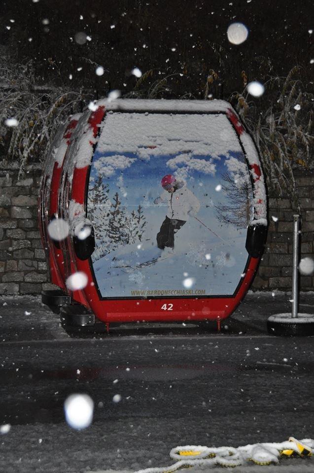 Bardonecchia, neve fresca 28.10.15 - ©Bardonecchia Ski - Facebook