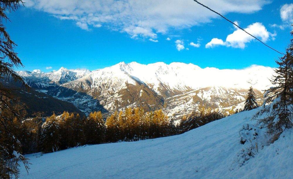 Bardonecchia, neve fresca 29.10.15 - ©Bardonecchia Ski Facebook
