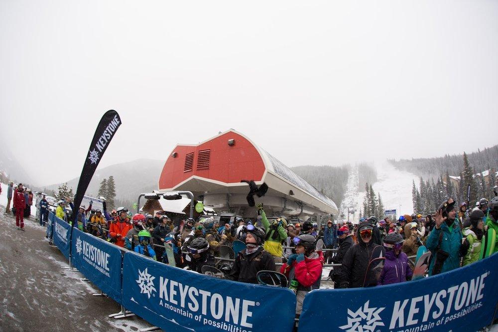 Keystone opens with fresh snow for 2015 - ©Keystone Resort