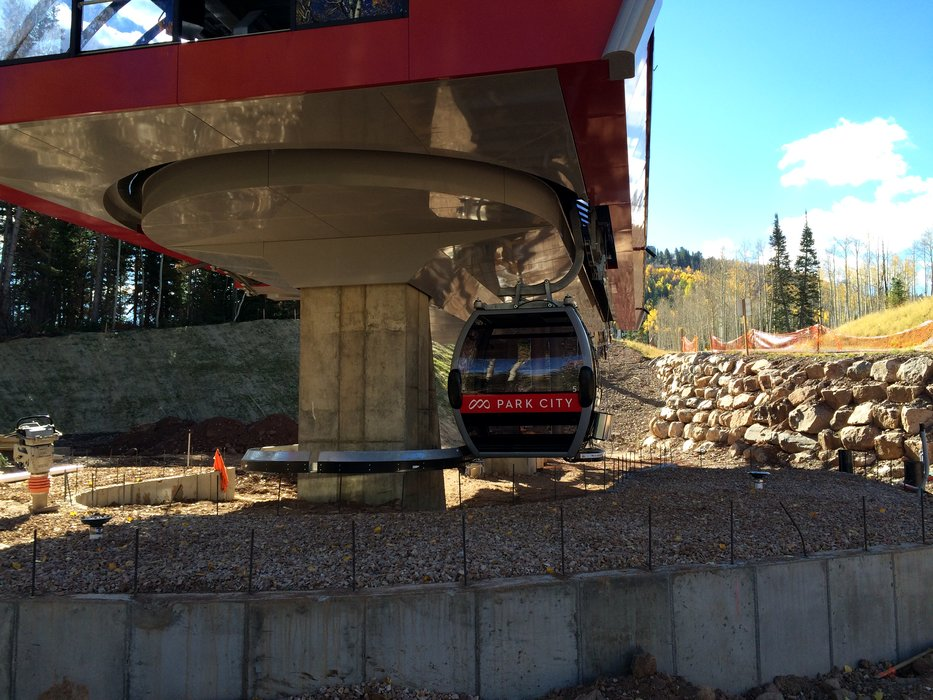 The new Quicksilver Gondola connects the original Park City and Canyons. - ©Park City/Vail Resorts