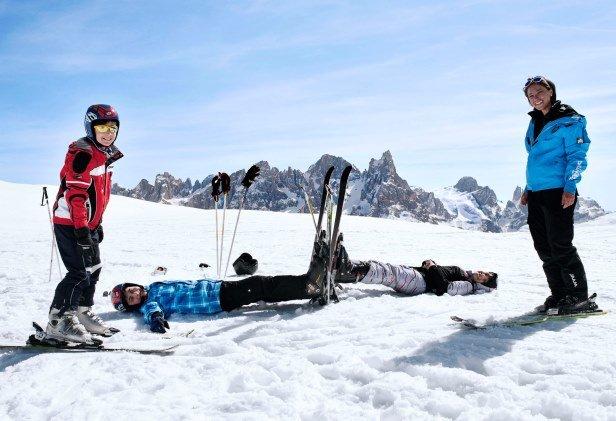 bambini-sciano-gratis - ©San Martino di Castrozza - Passo Rolle