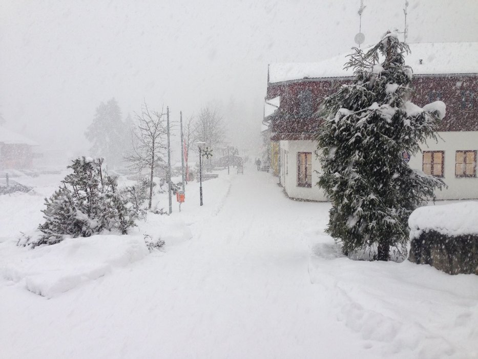 Lipno Ski resort, CZE, 15.1.2016 - ©Facebook Skiareál Lipno